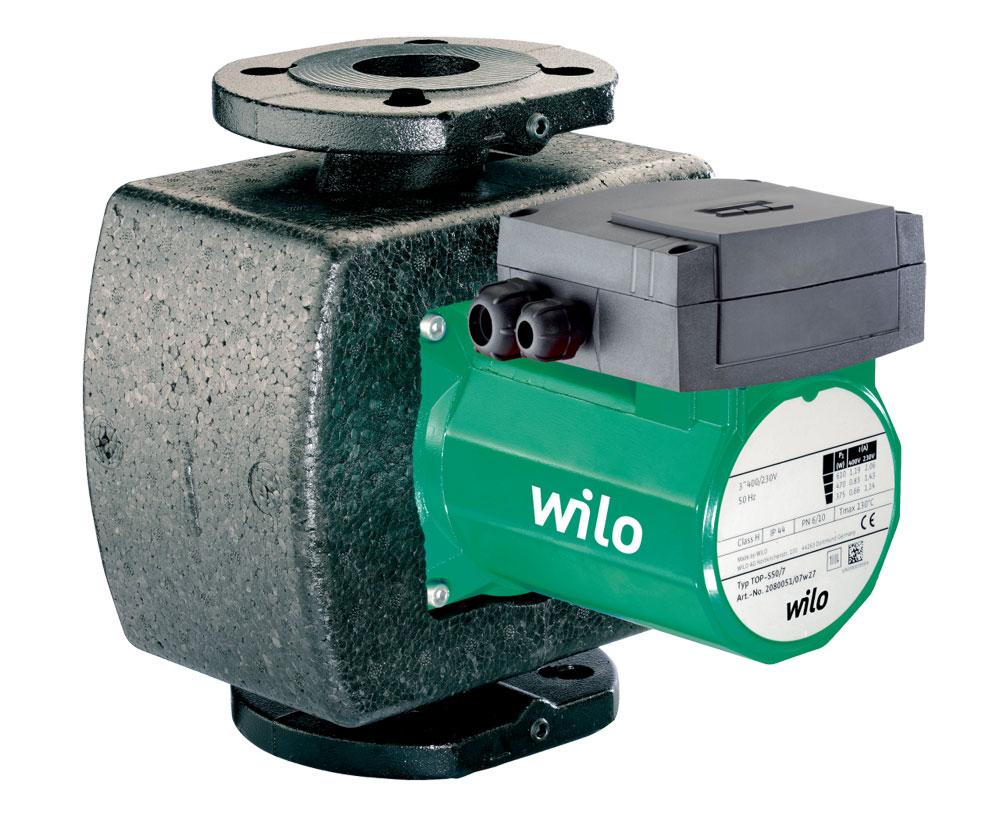 водяной насос wilo схема подключения